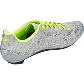 Giro Empire E70 Knit Shoes Herre grey heather/highlight yellow